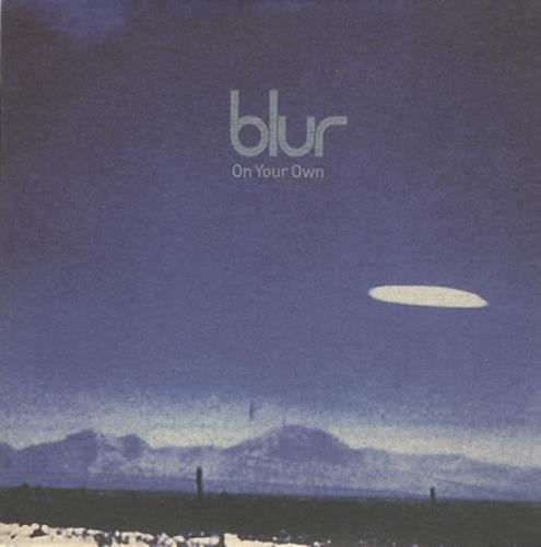 """Blur On Your Own CD single (CD5 / 5"""") UK BLRC5ON87556"""