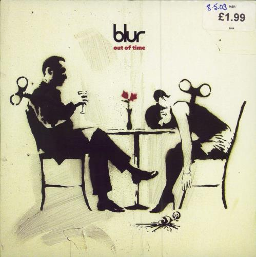 "Blur Out Of Time 7"" vinyl single (7 inch record) UK BLR07OU243534"
