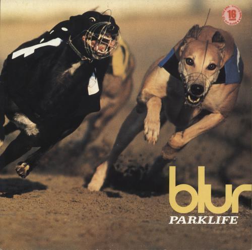 Blur Parklife - VG vinyl LP album (LP record) UK BLRLPPA712618