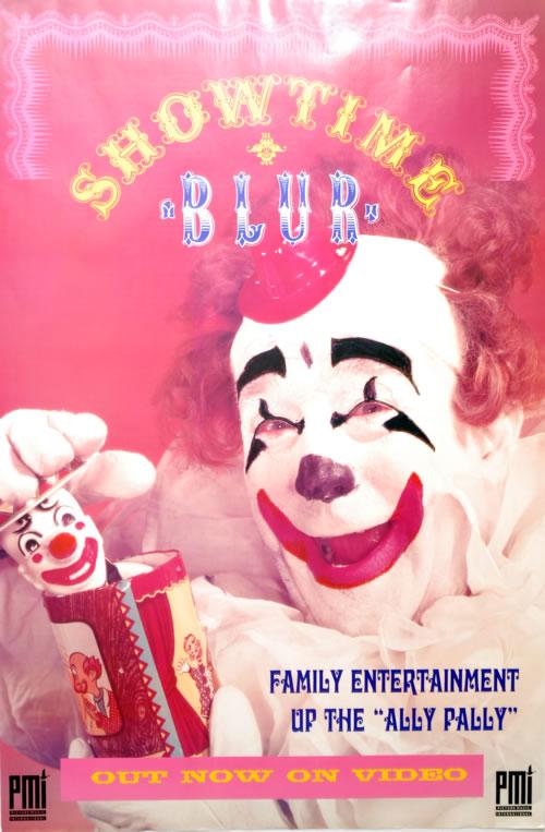 Blur Showtime poster UK BLRPOSH61393