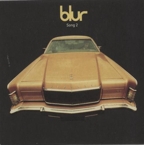 "Blur Song 2 - CD2 CD single (CD5 / 5"") UK BLRC5SO83915"
