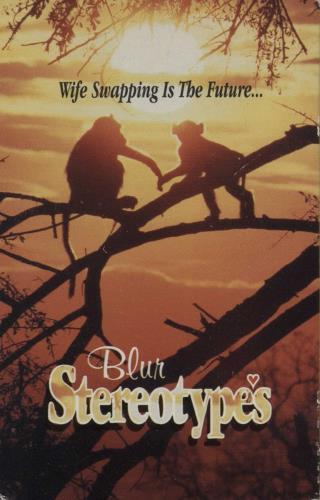 Blur Stereotypes cassette single UK BLRCSST67418
