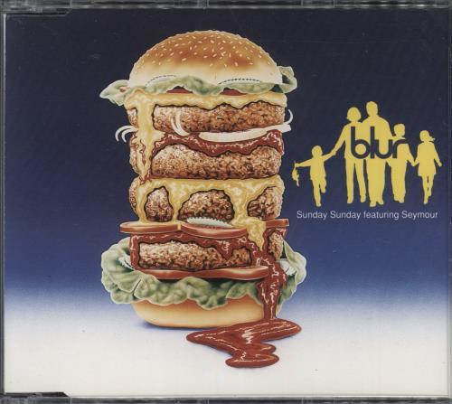 "Blur Sunday Sunday - CD1 CD single (CD5 / 5"") UK BLRC5SU28881"