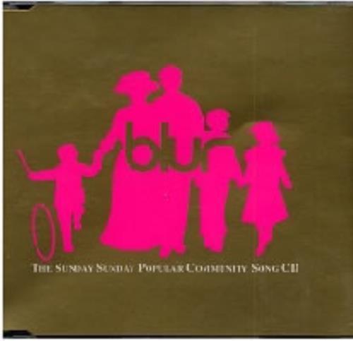 "Blur Sunday Sunday - CD2 CD single (CD5 / 5"") UK BLRC5SU34762"