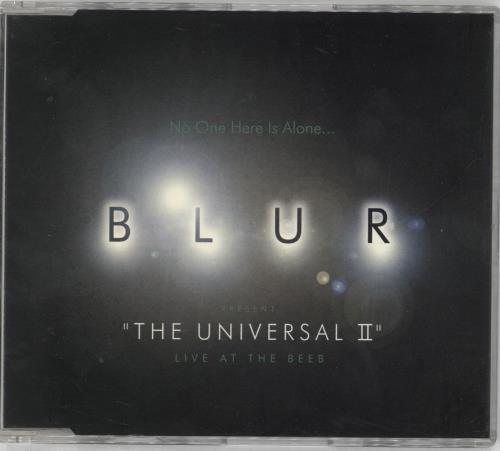 "Blur The Universal II: Live At The Beeb CD single (CD5 / 5"") UK BLRC5TH56748"