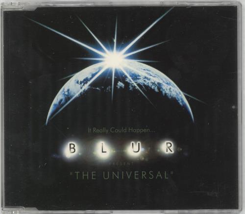 """Blur The Universal CD single (CD5 / 5"""") Dutch BLRC5TH57722"""