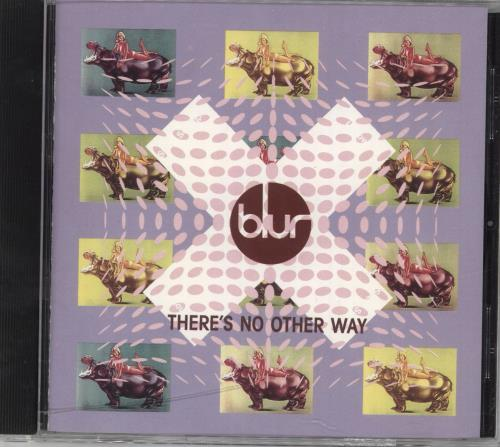 """Blur There's No Other Way CD single (CD5 / 5"""") US BLRC5TH43596"""
