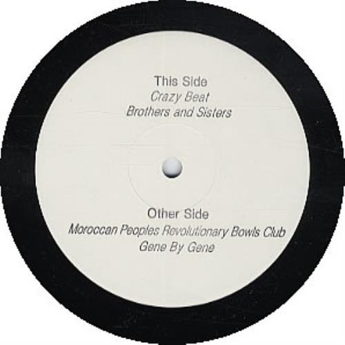 "Blur Think Tank - Album Sampler 12"" vinyl single (12 inch record / Maxi-single) UK BLR12TH256840"