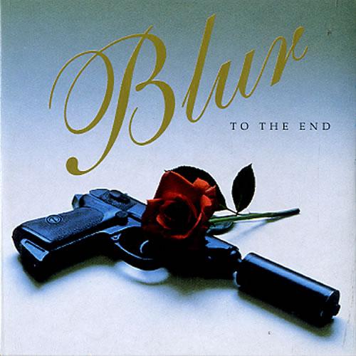 "Blur To The End (La Comedie) CD single (CD5 / 5"") Dutch BLRC5TO250636"