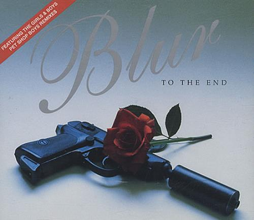 """Blur To The End - Part 2 CD single (CD5 / 5"""") UK BLRC5TO32777"""
