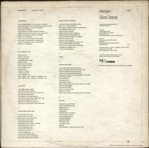 Bobak, Jons, Malone Motherlight - 1st vinyl LP album (LP record) UK I9KLPMO61317