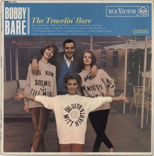 Bobby Bare The Travelin' Bare vinyl LP album (LP record) UK BYJLPTH699520