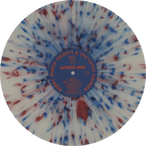 Bobby 'Boris' Pickett Monster Mash - Red, White & Blue Splatter Vinyl vinyl LP album (LP record) UK B7GLPMO658559
