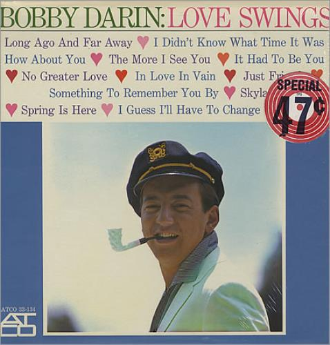 Bobby Darin Love Swings - Sealed vinyl LP album (LP record) US BD-LPLO381740