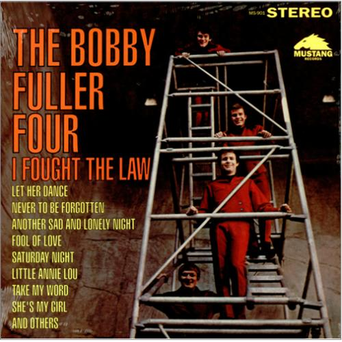 Bobby Fuller Four I Fought The Law US vinyl LP album (LP ...