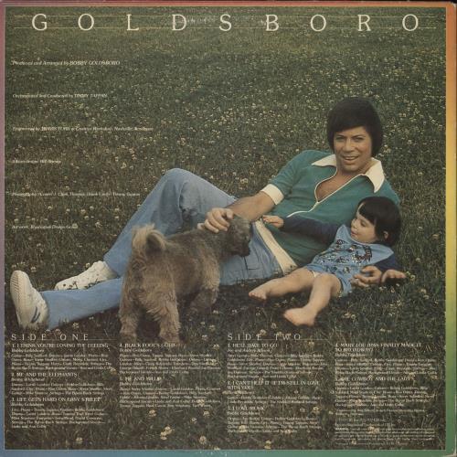 Bobby Goldsboro Goldsboro vinyl LP album (LP record) UK G0LLPGO749431