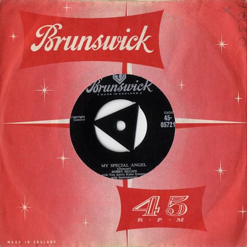 "Bobby Helms My Special Angel 7"" vinyl single (7 inch record) UK B9Z07MY547706"