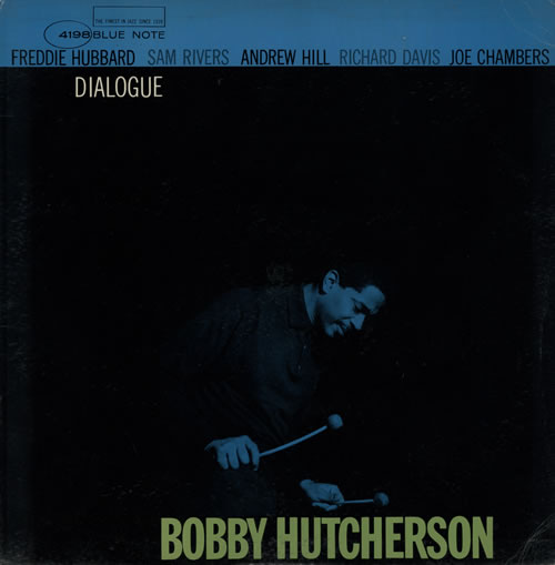 Bobby Hutcherson Dialogue - NY, USA vinyl LP album (LP record) US HTNLPDI584489