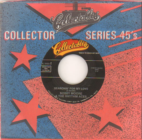 """Bobby Moore's Rhythm Aces Searchin' For My Love 7"""" vinyl single (7 inch record) US EQT07SE641550"""