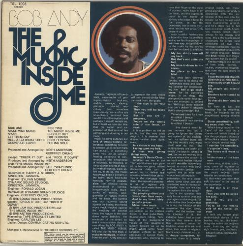 the music inside me