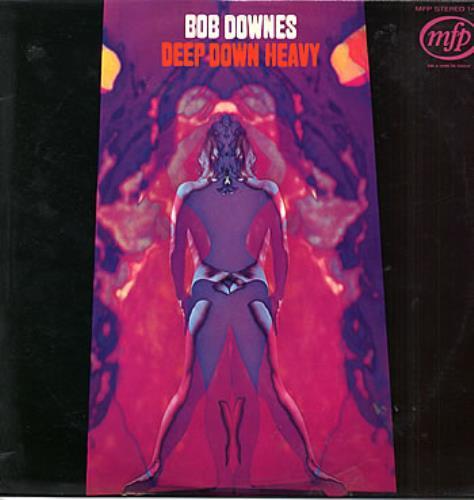 Bob Downes Deep Down Heavy vinyl LP album (LP record) UK BD0LPDE290913
