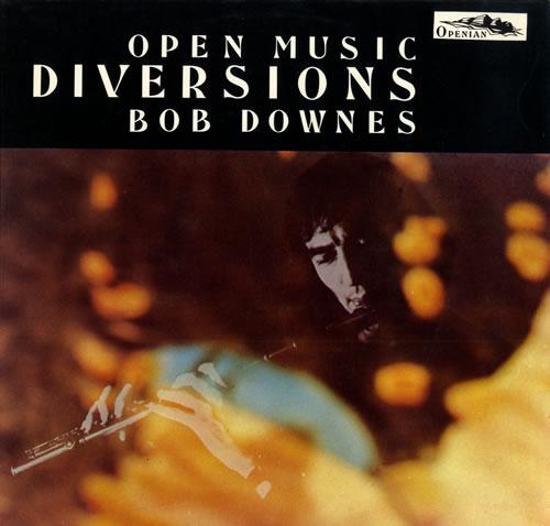 Bob Downes Diversions vinyl LP album (LP record) UK BD0LPDI559995