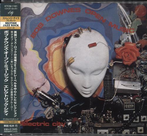 Bob Downes Electric City CD album (CDLP) Japanese BD0CDEL727127