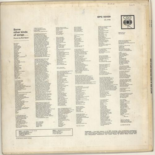 Bob Dylan Another Side Of Bob Dylan - 1st - VG vinyl LP album (LP record) UK DYLLPAN575485