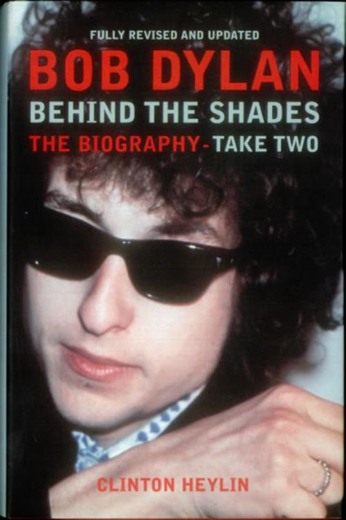 Bob Dylan Behind The Shades - Take Two book UK DYLBKBE542217