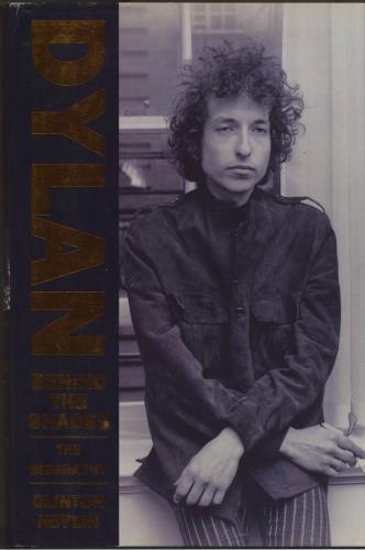 Bob Dylan Behind The Shades book UK DYLBKBE550629