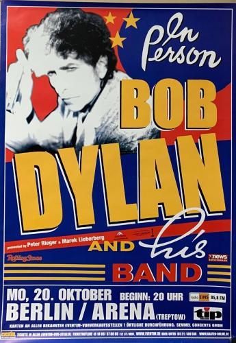 Bob Dylan Berlin Arena October 20, 2003 Poster poster German DYLPOBE739914
