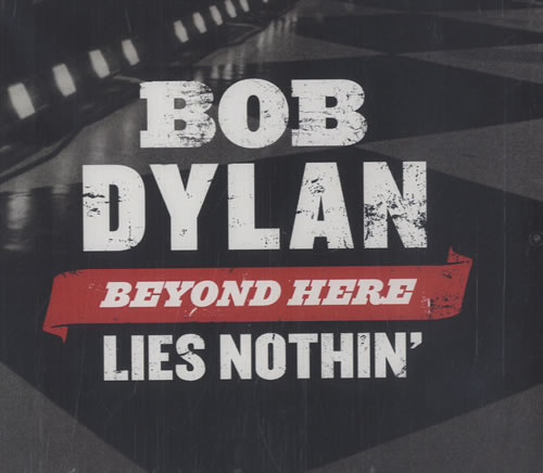 Bob Dylan Beyond Here Lies Nothin' CD-R acetate US DYLCRBE469885