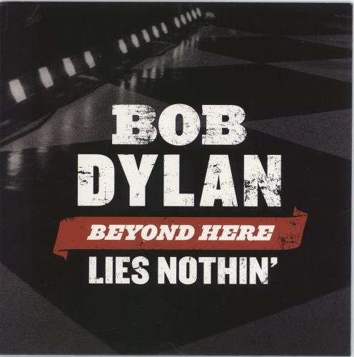 "Bob Dylan Beyond Here Lies Nothin' 7"" vinyl single (7 inch record) German DYL07BE774819"