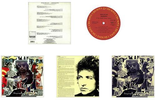 Bob Dylan Biograph Vinyl Box Set Japanese DYLVXBI445009