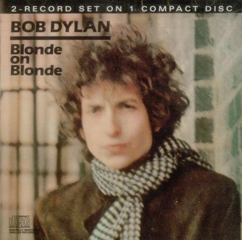 Bob Dylan Blonde On Blonde CD album (CDLP) US DYLCDBL09828