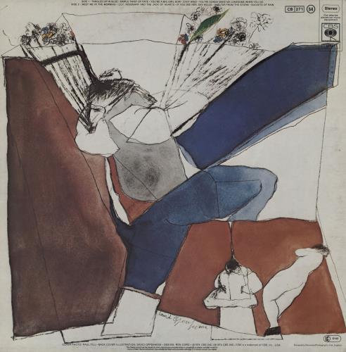Bob Dylan Blood On The Tracks - 2nd + inner - EX vinyl LP album (LP record) UK DYLLPBL761231