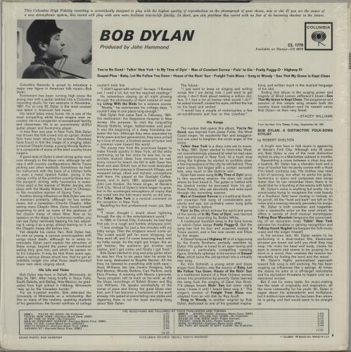 Bob Dylan Bob Dylan - Sealed Vinyl - two eye label vinyl LP album (LP record) US DYLLPBO665486
