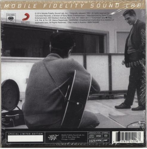 Bob Dylan Bob Dylan - Sealed super audio CD SACD US DYLSABO693295