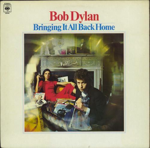 Bob Dylan Bringing It All Back Home - Red Label vinyl LP album (LP record) UK DYLLPBR586131