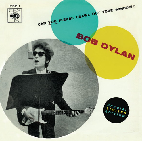 Bob Dylan Can You Please Crawl Out Your Window? - Record Store Day box set US DYLBXCA551845