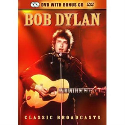 Bob Dylan Classic Broadcasts 2-disc CD/DVD set UK DYL2DCL510645