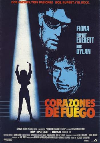 Bob Dylan Corazones De Fuego press book Spanish DYLPBCO385908