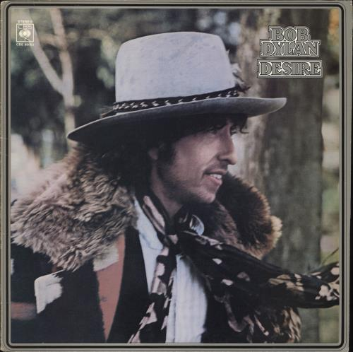 Bob Dylan Desire vinyl LP album (LP record) UK DYLLPDE106152