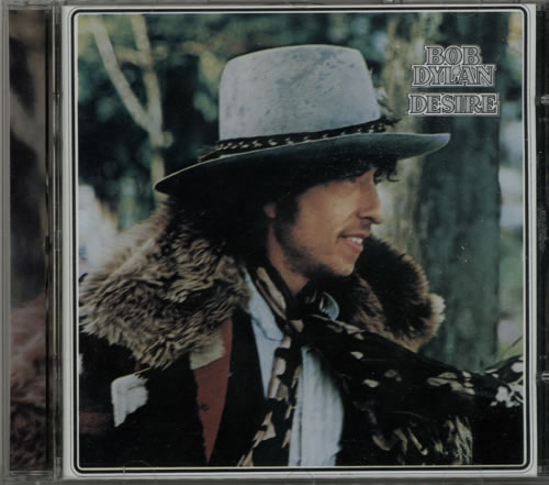 Bob Dylan Desire UK CD album (CDLP)