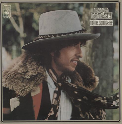 Bob Dylan Desire Australian vinyl LP album (LP record) (671086)