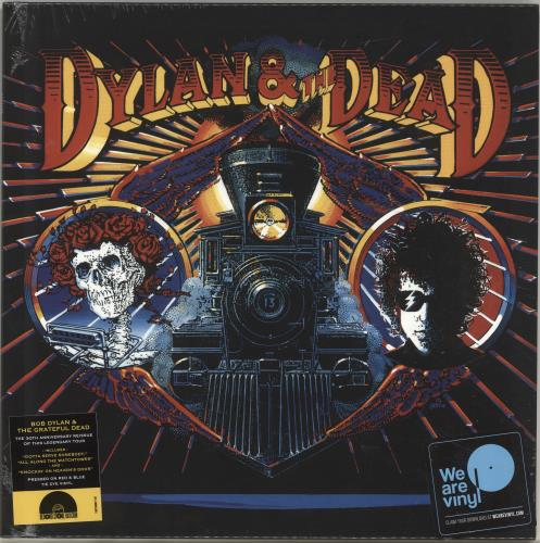 Bob Dylan Dylan & The Dead - RSD18 - Coloured Vinyl - Sealed vinyl LP album (LP record) UK DYLLPDY694996