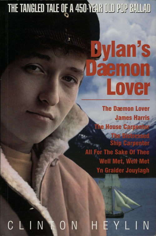 Bob Dylan Dylan's Daemon Lover UK book