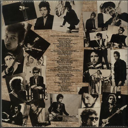 Bob Dylan Eleven Years In The Life Of Bob Dylan + Obi 3-LP vinyl record set (Triple Album) Japanese DYL3LEL385648