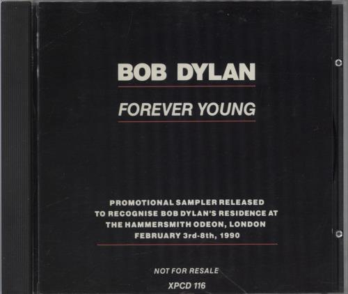 Bob Dylan Forver Young CD album (CDLP) UK DYLCDFO27325