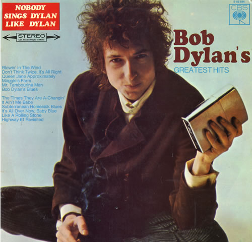Bob Dylan Greatest Hits - VG vinyl LP album (LP record) Dutch DYLLPGR554125